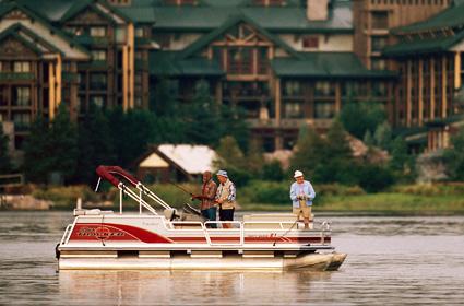 Mickey ears com bass fishing tours for Bass fishing disney world