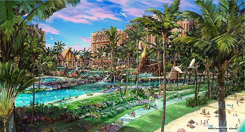 Expected To Open In 2011 Disney Is Planning Turn 21 Acres Of Oceanfront Property On The Island Oahu Into An 800 Room Luxury Hotel Complex